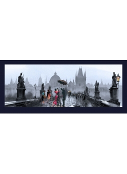 Tanec na Karlově Mostě (inspirováno Vettrianem)